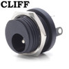 Cliff Electronic Components - Switched 2.1mm DC Power Jack - Outtie style (external nut)