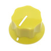 Yellow Dunlop MXR Large Clone Knob with Set Screw