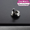 Taiway dress nut shown with short actuator toggle switch