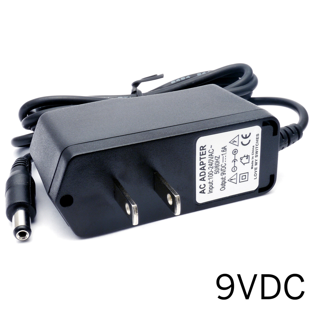 Pedal Power Supply - 9V DC 1 6A