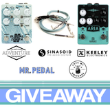 Gear Giveaway! Pedals, parts, and more