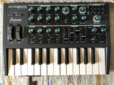 Replace knobs on the Arturia MicroBrute (and other gear with D-shaft knobs)