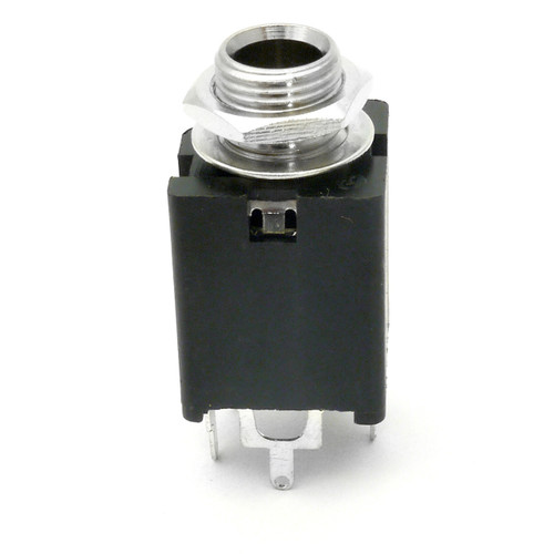 """1/4"""" Stereo Switched Enclosed Jack - 5 Pins"""