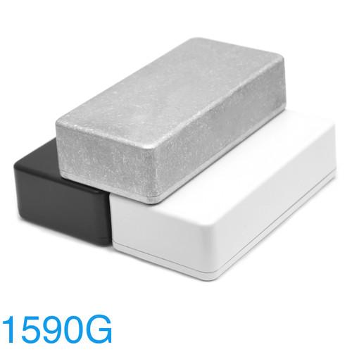 1590B Enclosure - Bare Aluminum and Powder Coat options