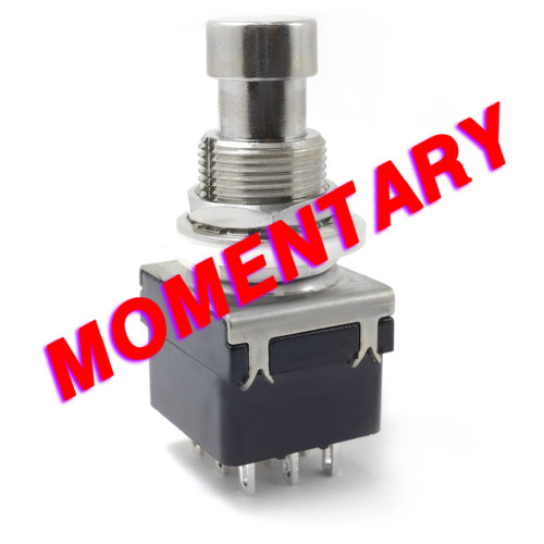 3PDT Momentary Foot Switch - Solder