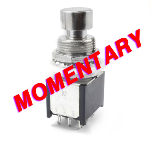 3PDT Momentary Foot Switch - Low Profile - Solder Lugs