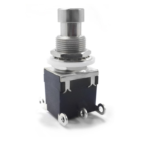 DPDT Latched Foot Switch - Solder Lugs