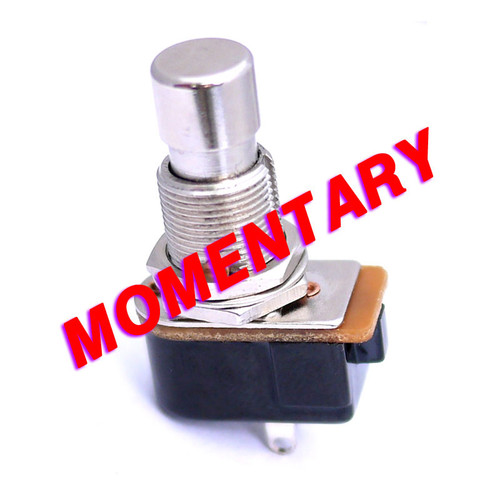 SPST Momentary Foot Switch - Normally Open - Vampire Fangs