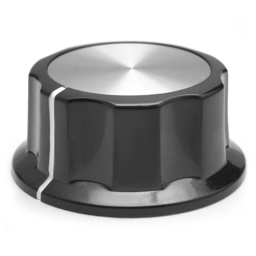 Boss style knob - 45mm outer diameter