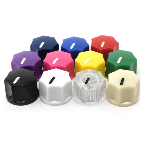 """Mini MXR"" style small fluted knobs - all colors"