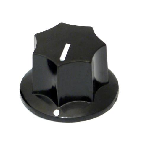 Black MXR style knob - 24mm