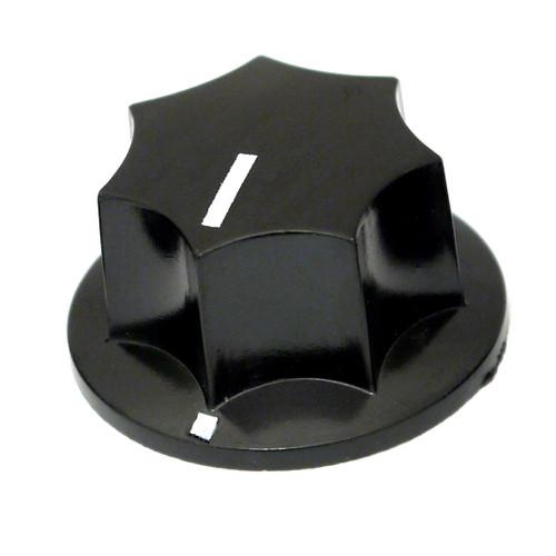 Black MXR style knob - 29mm
