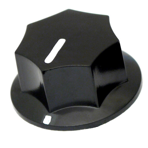 Black MXR style knob - 33mm