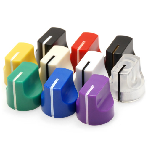 1611 guitar pedal knobs - all colors