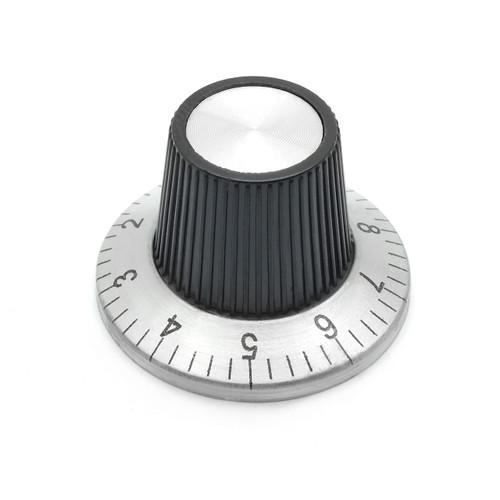 Flying Saucer Skirt Knob - Medium - Numbered Indicator