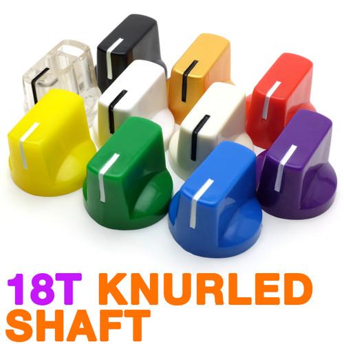 Davies 1510 clone knobs with knurled shaft