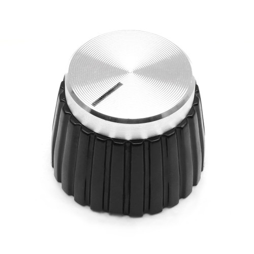 Silver Marshall style knob