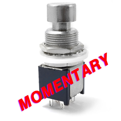 DPDT Momentary Foot Switch - Low Profile - Solder Lugs