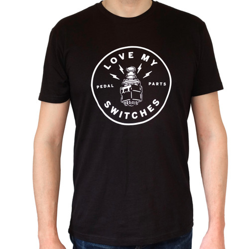 "Men's ""Love My Switches"" T-Shirt - Size Medium shown"