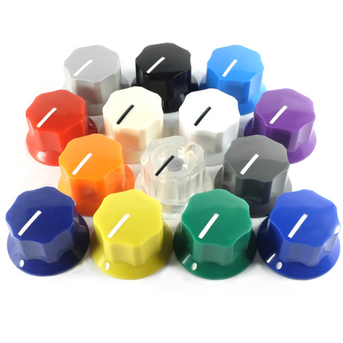 Colors of Dunlop MXR Large Clone Knob with Set Screw