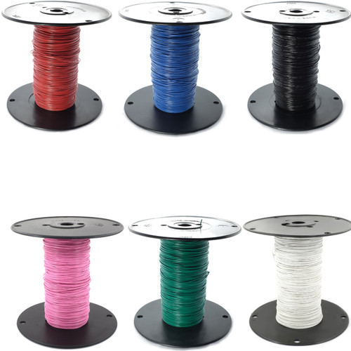 Six colors available - 24 gauge hook-up wire for boutique pedal manufacturing