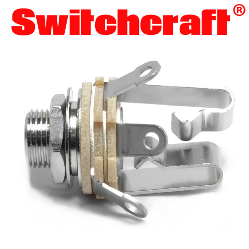 "Switchcraft 1/4"" stereo jack for guitar and pedal building"