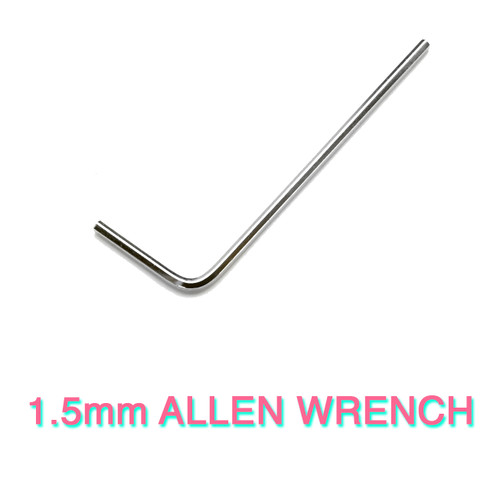 1.5mm Allen Wrench/Hex Key/Allen Key for Knob Set Screws