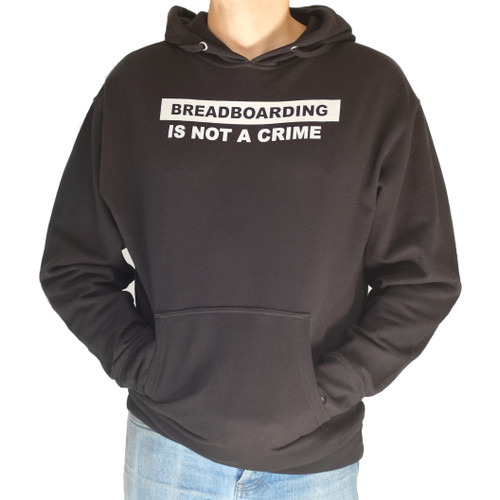 Breadboarding Is Not A Crime hooded sweatshirt
