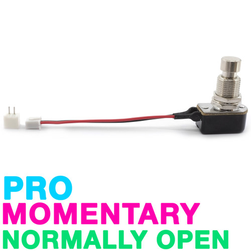 Pro Grade SPST Momentary  Foot Switch - Normally Open - Pre-Wired with Connector