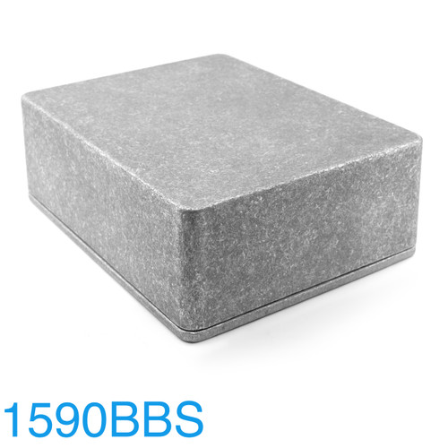 1590BBS Enclosure - CNC Pro - Bare Aluminum
