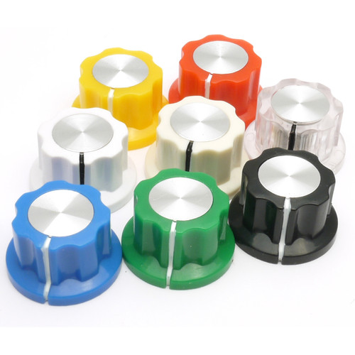 Colored Boss style knobs - all colors