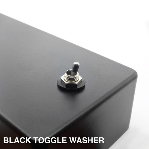 Black Anodized Aluminum Toggle Washer