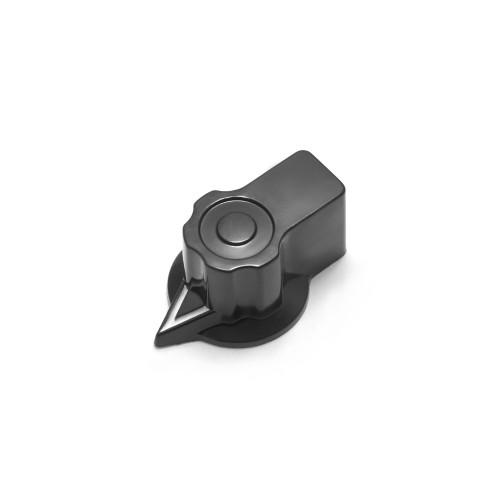 "Fairchild Style Pointer Knob - Small - 1/4"" Smooth Shaft (29.5mm OD)"