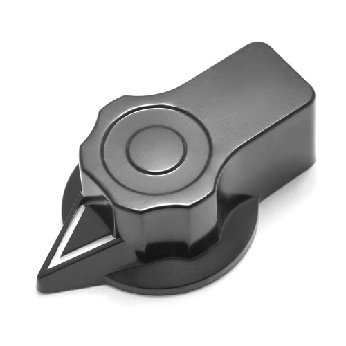 "Fairchild Pointer Knob - Large - 1/4"" Smooth Shaft (61mm OD)"