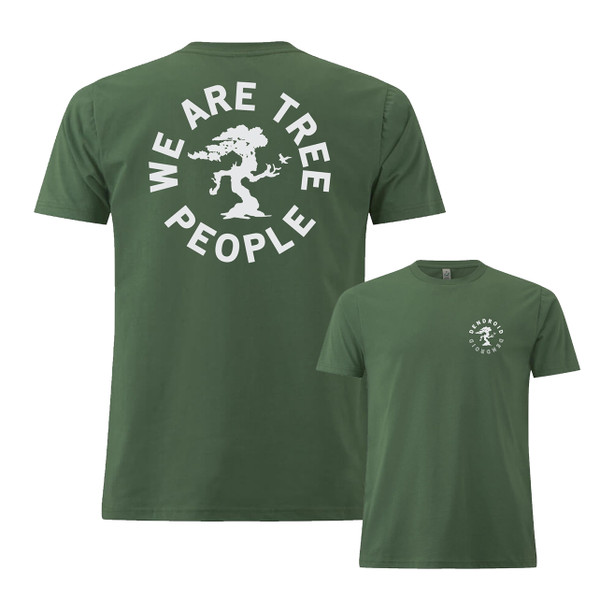 Dendroid - We are Tree People - Leaf Green - T-shirt