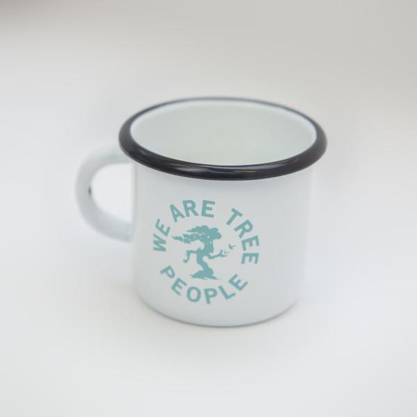 Dendroid Enamel Mug
