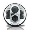 7 Inch Chrome Projector LED Headlights Set