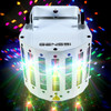 DJ 6 Color LED + Dual Laser Butterfly Party Light
