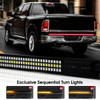 Tailgate Rigid LED Strip 60 inches Red White Sequential Amber