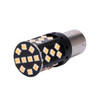 1156 7506 No Hyper Flash Super Canbus LED Bulbs Amber (2 Pack)