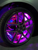 LED Wheel Light Kit Chase Moving Signal and Brake Function Wireless