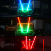 LED RGB CHASE Whip Light Off Road Flag Wireless Color Moving Synced 5ft