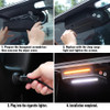 LED Cargo Tailgate Light with Amber Warning for Jeep Wrangler JL JLU 2018+