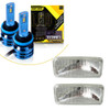 LED Kit Sealed Beam Replacement Headlights for Camaro 1993-1997  H4351 H4352 (2 Pack)