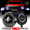 Demon Eye LED Headlights for Wrangler JL JLU  Gladiator 2018 Up