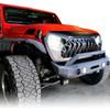 Gladiator Warrior Grille for Jeep Wrangler JL JLU & Gladiator 2018+