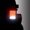Black LED Tail Lights For Jeep Wrangler JK 2007-2017