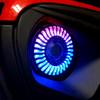 Demon Eye LED Headlights Fog Lights Kit for Wrangler JL JLU  Gladiator 2018 Up