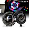 Demon Eye LED Headlights Fog Lights Kit for Wrangler JL JLU  Sport Sport S 2018 Up