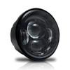 4.65 In LED Black Projector Headlight Harley Davidson Dyna Fat Bob FXDF 2008-2016 Black (2 Pack)